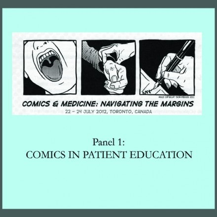 New Podcast Wednesday: Comics in Patient Education, Part One