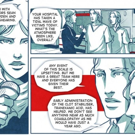 Comics and Trauma