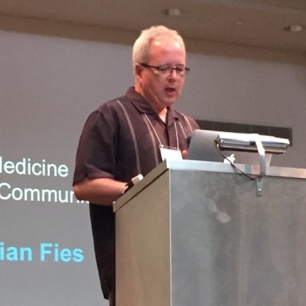 """Graphic Medicine Practice and Community"" with Brian Fies"