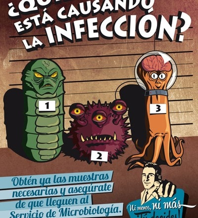 Vintage Spanish Comic Posters Encourage Correct Use of Antibiotics