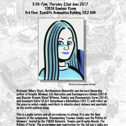 'Documenting Trauma: Comics and the Politics of Memory'