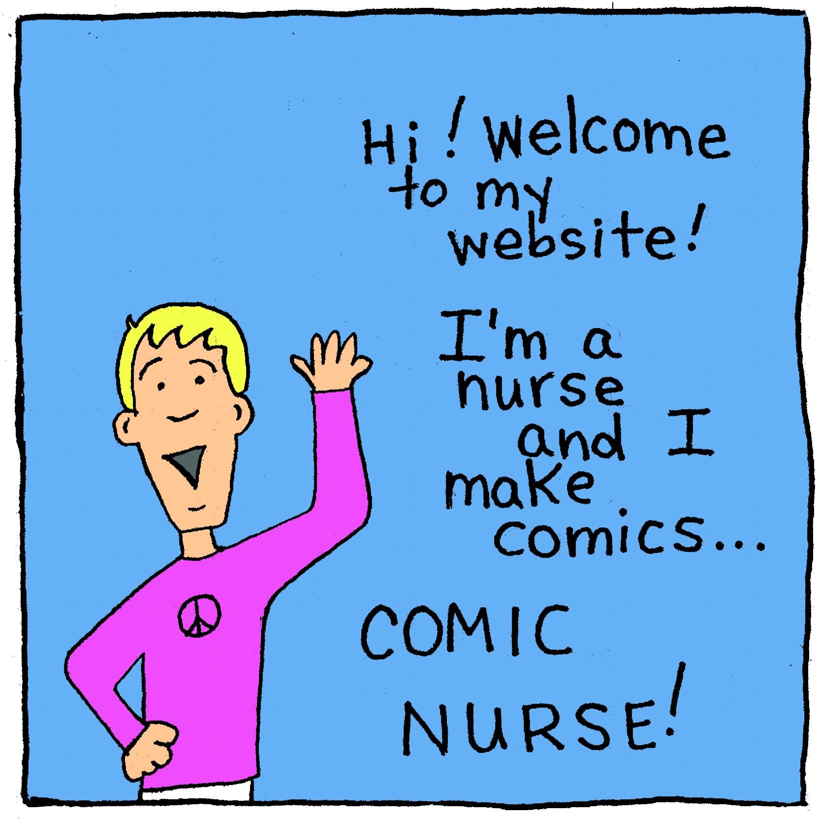 Comic Nurse | Graphic Medicine