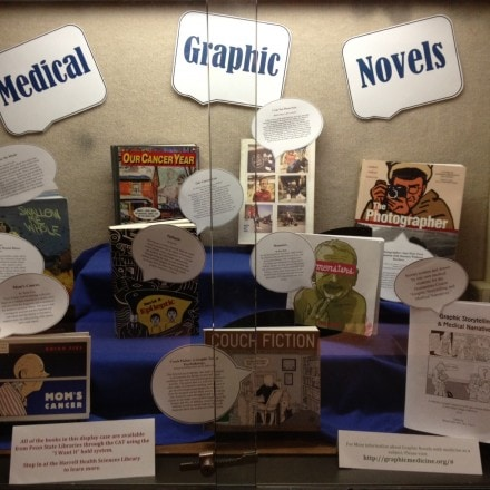 Medical Library Display