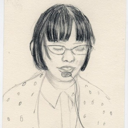 Conference Sketches: Riva Lehrer