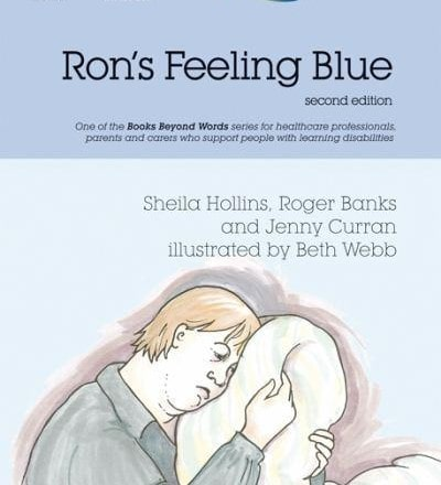Ron's Feeling Blue (Books Beyond Words) [Paperback]