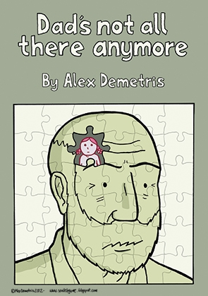 Dad's not all there anymore: Lewy Body Dementia comic
