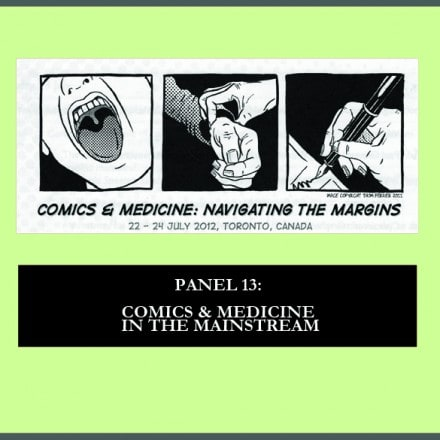 New Podcast: Comics & Medicine in the Mainstream