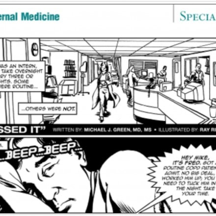 Comics on Rounds: A Story from Anesthesia