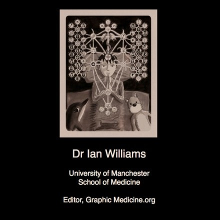 "New Podcast: Ian Williams ""Medical Examinations"" Keynote"