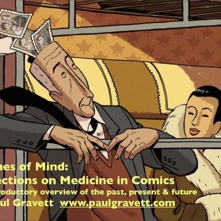 Graphic Medicine Podcast: Brighton Welcome and Paul Gravett's Keynote
