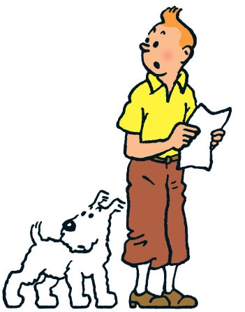 tintin and snowy wallpaper - photo #41