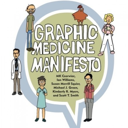 Graphic Medicine Manifesto Nominated for Eisner Award.