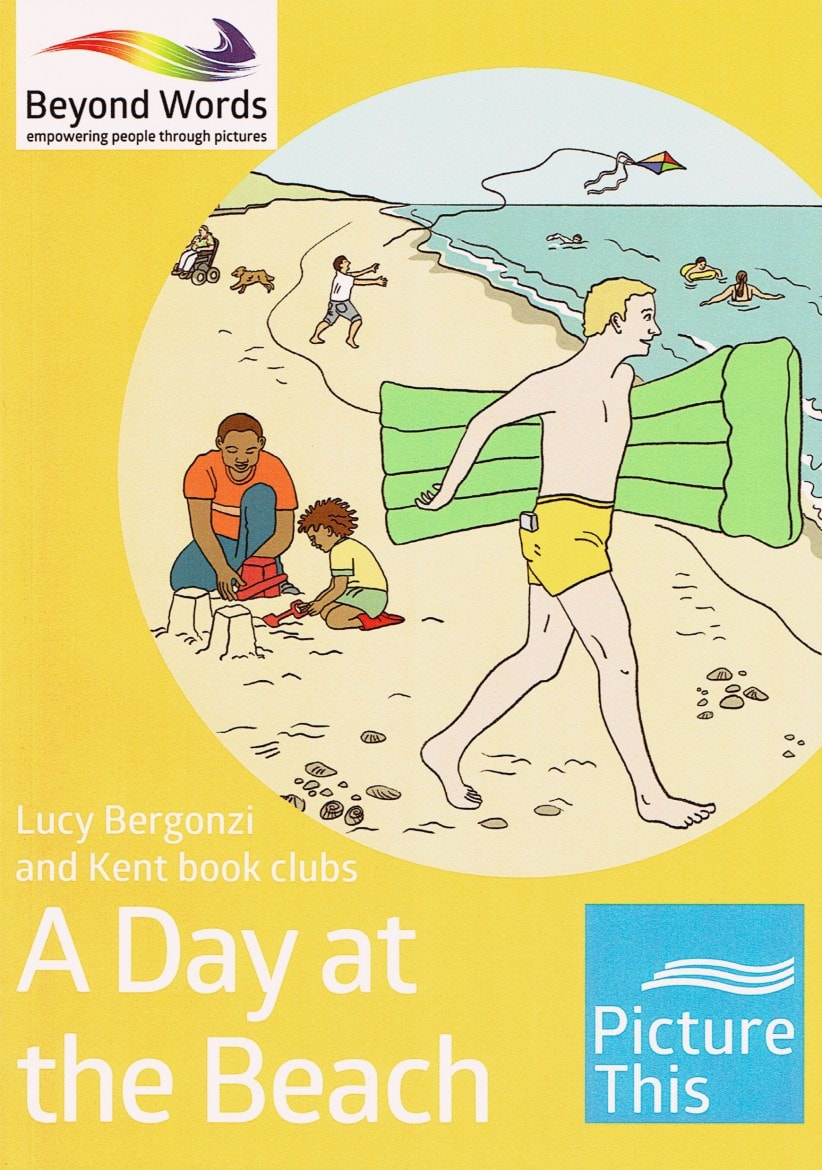 'A Day at the Beach' front cover copy