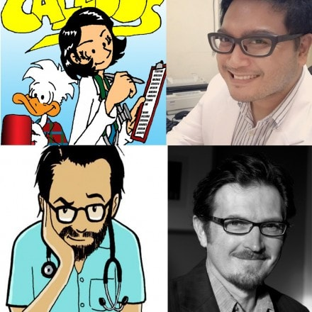 New Podcast Episode: Doctors Making Comics