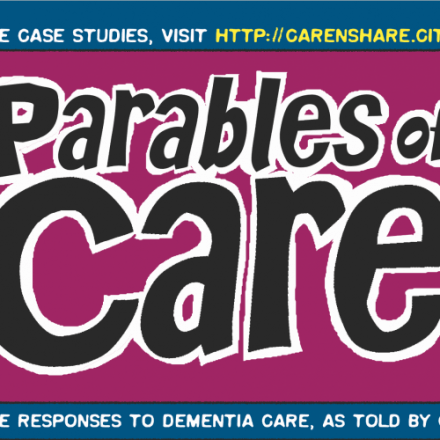 Parables of Care: using comics to enhance the impact of dementia care practice and research.