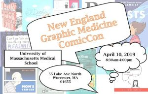 New England Graphic Medicine ComicCon Details
