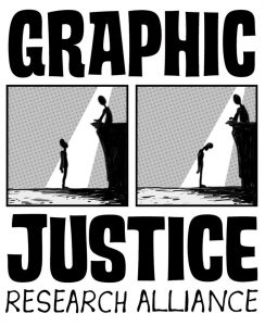 Graphic Justice Research Alliance Logo