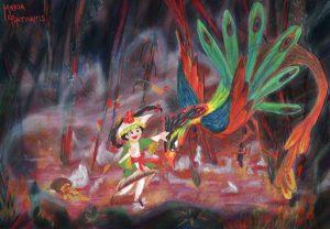 The Phoenix by Maria Photinakis